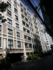 For RentCondoSilom, Saladaeng, Bangrak : ให้เช่า Silom City Resort ใกล้ BTS ช่องนนทรี 1 b ราคาพิเศษ 17K