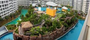 For SaleCondoPattaya, Bangsaen, Chonburi : Laguna Beach Resort 3 ลากูน่า บีช รีสอร์ท 3 เดอะ มัลดีฟส์ สวนน้ำ ขนาดใหญ่ล้อมรอบโครงการ ห่างจากทะเลจอมเทียน เพียง 900 เมตร อ.บางละมุง จ.ชลบุรี