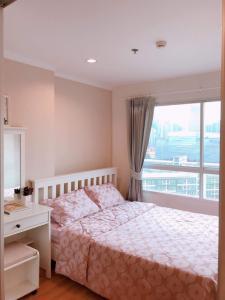 For RentCondoRama9, RCA, Petchaburi : ให้เช่า ลุมพินี พาร์ค พระราม 9 lumpini park rama 9 ชั้นสูง ห้องสวย เฟอร์ครบ ราคา 8,500 ราคาช่วงโควิด