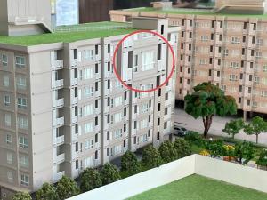 Sale DownCondoPinklao, Charansanitwong : 🔥ขายดาวน์🔥โครงการศุภาลัยซิตี้รีสอร์ท จรัญ 91อาคาร 5 ชั้น 7 ห้อง 1 Bedroom ขนาด 35 ตรม.  วิวสวน ตำแหน่ง 1B2 02