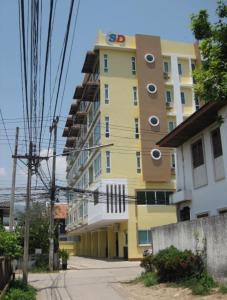 ขายคอนโดเชียงใหม่ : ขาย SD condo สวนดอก -  1 ห้องนอน ชั้น 4 ซอยวัดสวนดอก ใจกลางเมือง ใกล้โรงพยาบาลสวนดอก