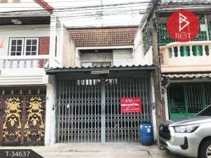 For SaleTownhouseSamrong, Samut Prakan : ขายทาวน์เฮ้าส์ ทำเลดี หมู่บ้านร่มโพธิ์2 เทพารักษ์ จังหวัดสมุทรปราการ