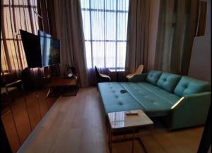 เช่าคอนโดสาทร นราธิวาส : Knightsbridge Prime Sathorn ให้เช่า Duplex 1 ห้องนอน 37 ตร.ม. ชั้น 33 วิวสวย เฟอร์ครบพร้อมอยู่ใกล้ BTS ช่องนนทรีเดินทางสะดวก