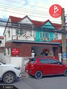 For SaleTownhouseSamrong, Samut Prakan : ขายทาวน์เฮ้าส์ 2 ชั้น หลังริม ทรัพย์ดินทอง สมุทรปราการ
