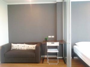 For RentCondoRama9, RCA, Petchaburi : Lumpini Park Rama 9 for rent 1 bedroom 26 sq.m. fl.4 Fully furnished, Ready move in near MRT Rama 9