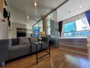 For RentCondoRama9, RCA, Petchaburi : Lumpini Park Rama 9 for rent 1 bedroom 23 sq.m. fl.6 Fully furnished, Ready move in near MRT Rama 9