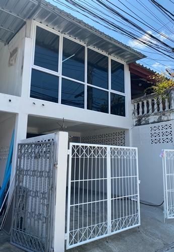 For RentTownhouseSamrong, Samut Prakan : SH_01084 House for rent Townhouse in Paknam near BTS Royal Thai Naval Academy