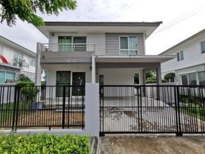 For SaleHouseSamrong, Samut Prakan : SH_01051 House for sale Pruklada Bangna soi Abac bangna Pruklada Bangbo