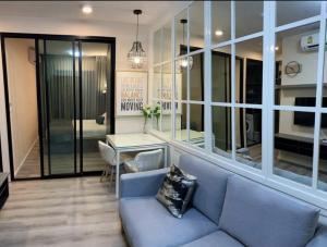 For RentCondoBangna, Lasalle, Bearing : ให้เช่าคอนโด Notting Hill Sukhumvit 105 แบริ่ง  *แต่งสวย Furniture จัดเต็ม  ห้องเพิ่งว่าง 1/8/64 *ชั้น 2 อาคาร B วิวสวน เห็นต้นไม้ ร่มรื่นไม่ร้อน
