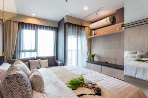 For RentCondoWitthayu,Ploenchit  ,Langsuan : Life One Wireless for rent Studio room 28 sq.m. fl.38 Fully furnished, Ready move in near BTS PloenChit