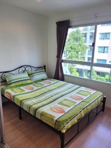 For RentCondoOnnut, Udomsuk : For rent💥 Lumpini Ville Onnut 46, near BTS Onnut, 1 br., furnished, ready to move in!!