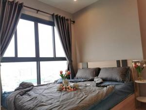 For RentCondoRamkhamhaeng, Hua Mak : For rent, The Tree Hua Mak Interchange, new room, ready to move in. fully furnished