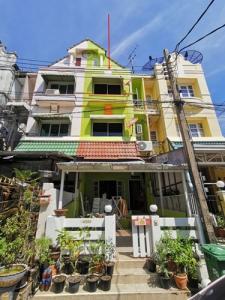 For SaleTownhouseSamrong, Samut Prakan : SH_01064 House for sale Lally Ville Srinakarin