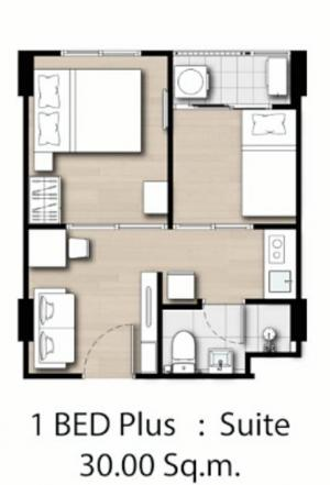 For RentCondoKasetsart, Ratchayothin : Room for rent 1 plus 12,500 Kensington Condo Kaset Campus, Kensington kaset campus