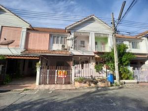 For SaleTownhouseSamrong, Samut Prakan : SH_01060 Townhouse for sale Village Phanason Villa Praksa-Klong Khud