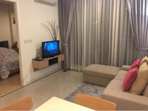For SaleCondoRama9, RCA, Petchaburi : Condo T.C. Green RM9  พระราม 9 ห้องสวย เฟอร์ครบ40 ตร.ม ชั้น 14 ตึก D  ราคาพิเศษ