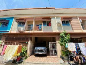 For SaleTownhouseRama 2, Bang Khun Thian : ขายทาวน์เฮ้าส์ 2 ชั้น หมู่บ้าน ธนจิตต์ ถนนสำเร็จพัฒนา อำเภอบางกรวย จังหวัดนนทบุรี