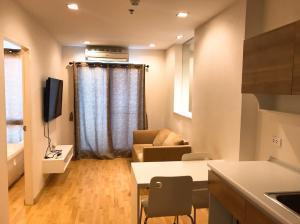 For RentCondoRama9, RCA, Petchaburi : ให้เช่าคอนโด คาซ่า คอนโด อโศก-ดินแดง (Casa Condo Asoke-Dindaeng) 1 bed พื้นที่ 31 ตร.ม. เฟอร์ครบ ชั้น 27 ห้องสวย วิวดี เจ้าของให้เช่าเอง
