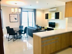 For RentCondoRama9, RCA, Petchaburi : Villa Asoke Condo 2 Bed For Rent Near MRT & Airport Link
