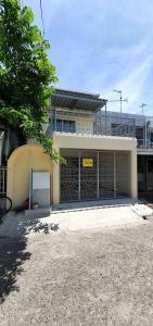 For RentTownhouseBangna, Lasalle, Bearing : LBH0213 Townhouse for rent, 2 floors, Soi Sukhumvit 68, Siang Son Niwet Village, near BTS Udom Suk.