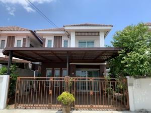 For SaleHouseMahachai Samut Sakhon : B00919 ขาย บ้านแฝด หมู่บ้าน กรีนเนอรี่ เอกชัย-โพธิ์แจ้( Greenery )  บ้าน กรีนเนอรี่ บางบอน พระราม 2