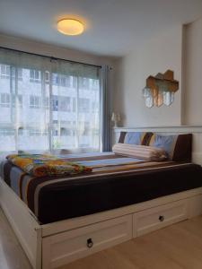 For RentCondoOnnut, Udomsuk : คอนโดให้เช่า   Elio Condo Sukhumvit 64    BA21_08_220_05  ห้องสวย เครื่อใช้ไฟฟ้าครบ ราคา 9,999 บาท