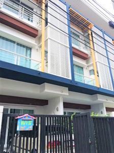 For SaleTownhouseVipawadee, Don Mueang, Lak Si : ขาย ทาวน์โฮม 3 ชั้น ชวนชื่น โมดัส วิภาวดี ถนนวิภาวดี-รังสิต 175 ตรม. 21.9 ตร.วา ใกล้ทางด่วนและรถไฟฟ้า