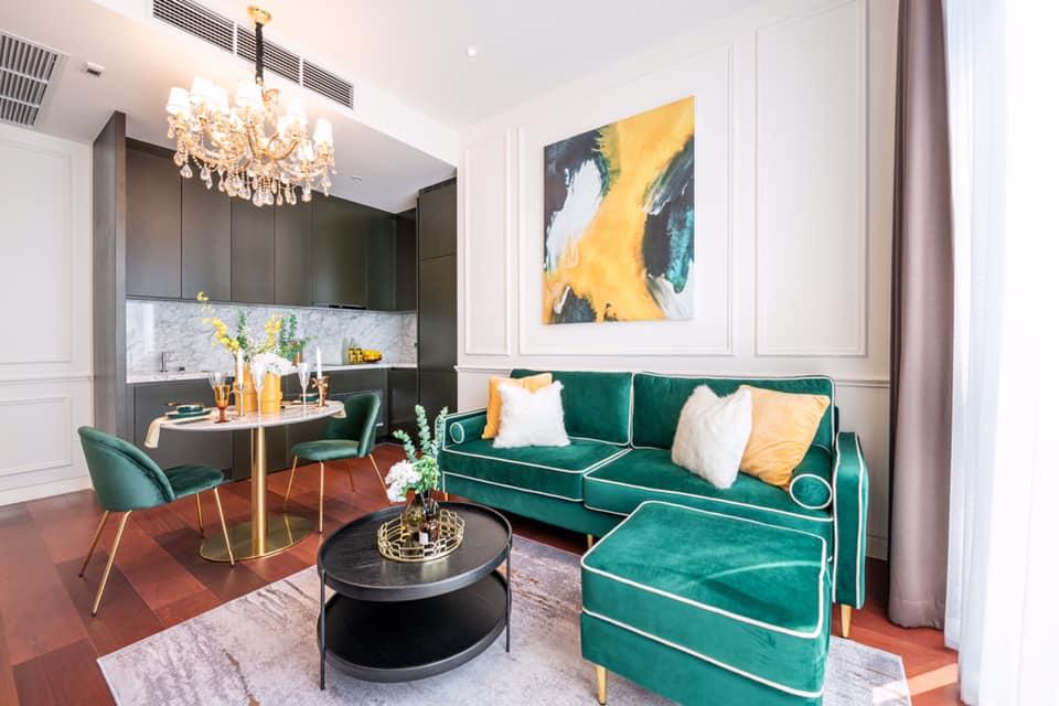 เช่าคอนโดสุขุมวิท อโศก ทองหล่อ : ✅ For Rent ** KHUN by YOO , Luxury condo ตกแต่ง Built-in สวยมากๆ พร้อมเข้าอยู่ **