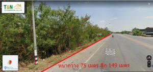 ขายที่ดินพิษณุโลก : ขาย ที่ดินเปล่า 6-1-25 ไร่ ติดถนนใหญ่  บางระกำ พิษณุโลก