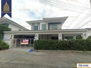 For SaleHouseLadkrabang, Suwannaphum Airport : บ้านแฝด แลนซิโอ คริป  อ่อนนุช-สุวรรณภูมิ เดินทางสะดวก