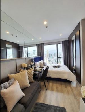 For RentCondoRama9, RCA, Petchaburi : Ideo mobi Asoke, luxury decoration, Studio, large room