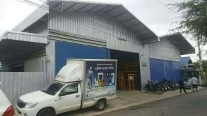 For SaleWarehousePattaya, Bangsaen, Chonburi : SKJ0002ขายโกดัง เนื้อที่ 120 ตารางวาเนื้อที่ใช้สอยกว่า 500 ตารางเมตร 2 ชั้น มีลิฟท์ บางพระ ชลบุรี