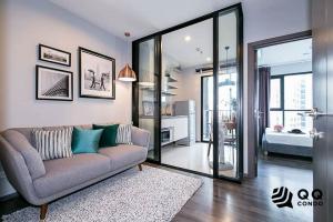 For SaleCondoOnnut, Udomsuk : For Sale  The Base Park West Sukhumvit 77 - 1Bedroom, size 30 sq.m., Beautiful room, fully furnished.