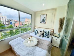 For SaleCondoOnnut, Udomsuk : ห้องแต่งสวยพร้อมอยู่ คอนโด ลุมพินีวิลล์ อ่อนนุช 46