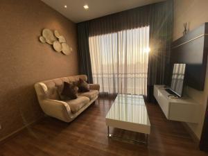 For RentCondoRatchadapisek, Huaikwang, Suttisan : Ivy ampio Ratchada for rent, 1 bedroom, 1 bathroom, size 44 sqm., 14th floor, beautiful decoration