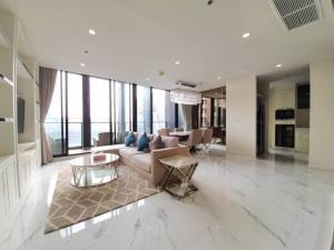 เช่าคอนโดวิทยุ ชิดลม หลังสวน : Rental : Noble Ploenchit, Ploenchit, Type (Bedroom) 3/duplex, Floor 40 (bldg.B), 180 sqm