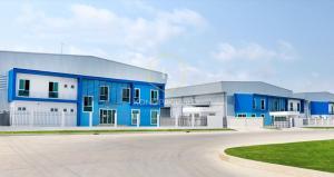 For RentFactorySamrong, Samut Prakan : factory for rent Purple area 1,917 sq.m., Bang Sao Thong District, Samut Prakan
