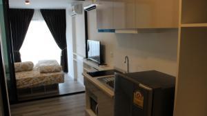 เช่าคอนโดสำโรง สมุทรปราการ : ให้เช่า คอนโด Pause สุขุมวิท 115 22 ตรม ห้องมุม 1 ห้องนอน 1 ห้องน้ำ ชั้น 3