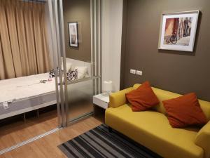 For SaleCondoOnnut, Udomsuk : Best price💥 Lumpini Ville Onnut 46, near BTS Onnut, 1 br., furnished, high floor, ready to move in!!