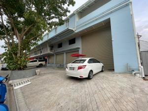 เช่าตึกแถว อาคารพาณิชย์รามคำแหง หัวหมาก : RPJ204ให้เช่าอาคารพาณิชย์ เหมาะทำโกดังสินค้า หมู่บ้านทาวน์อินทาวน์ถนนศรีวรา