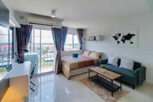 For RentCondoLadkrabang, Suwannaphum Airport : For rent/sale, arrange a great promotion price 🔥 Condo Iris Avenue On Nut-Wongwaen