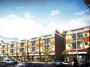ขายตึกแถว อาคารพาณิชย์เชียงใหม่ : ขายอาคารพาณิชย์ The Greenery Plaza เชียงใหม่ เจ็ดยอด