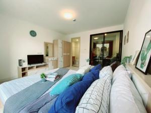 For RentCondoNawamin, Ramindra : Condo for rent, Nawa Living, Nawamin 75, new room, unpack the box, fully furnished, ready to move in 7,000 baht / month