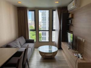 For RentCondoOnnut, Udomsuk : For Rent Monique Sukhumvit 64  Sofa bed / corner room / pool view