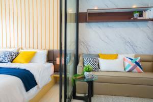 For RentCondoRama9, RCA, Petchaburi : Life Asoke 1br for rent