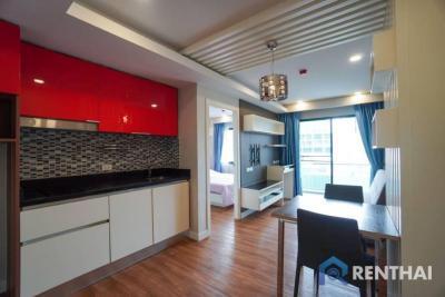 For SaleCondoPattaya, Bangsaen, Chonburi : For sale condo 1 bedroom at Dusit Grand Park