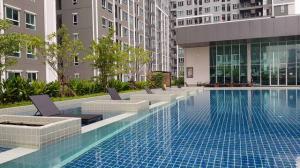 For RentCondoRama3 (Riverside),Satupadit : D Condo Sathupradit 49 Line ID : @wproper (with @ too) 30 sq.m. 8,500 baht/month