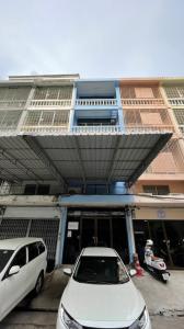 เช่าตึกแถว อาคารพาณิชย์คลองเตย กล้วยน้ำไท : อาคารพาณิชย์ให้เช่า 4ชั้นครึ่ง  ทำเลพระราม4 ใกล้ BTS พระโขนง