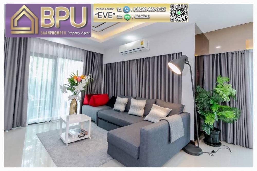 For RentHouseBangna, Lasalle, Bearing : **4 bedrooms house for rent** Centro Bangna Km.7 close to Mega Bangna