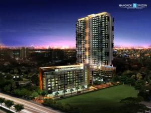 เช่าคอนโดท่าพระ ตลาดพลู : ให้เช่า คอนโด Bangkok Horizon รัชดา - ท่าพระ  ชั้น 24 ตึก B วิวเมือง
